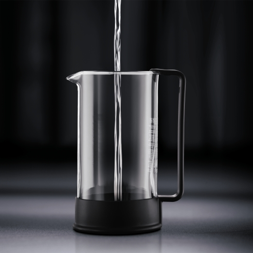 Lexan French Press Coffee Maker : Bodum - Brazil Black Coffee Maker (8 CUP) - The Potlok
