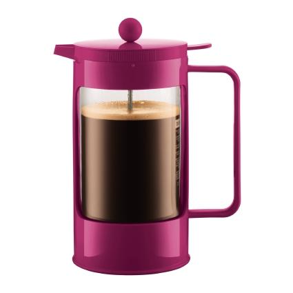 Bodum Bean Double Wall Coffee Maker Pink 1 L